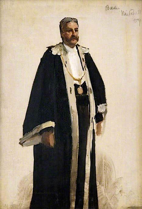 Bailie Mitchell (sketch) | Sir John Lavery
