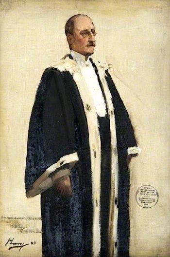 Bailie Simons (sketch) | Sir John Lavery