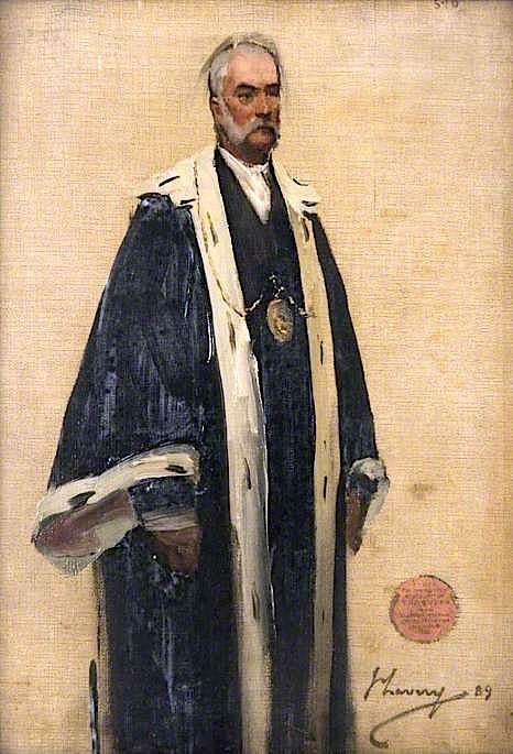 Bailie Watson (sketch) | Sir John Lavery