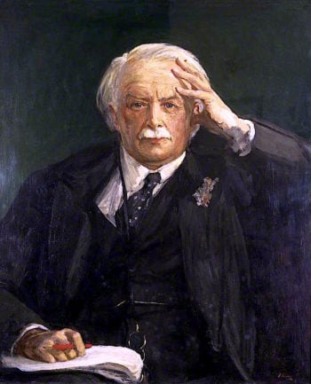 David Lloyd George   Sir John Lavery