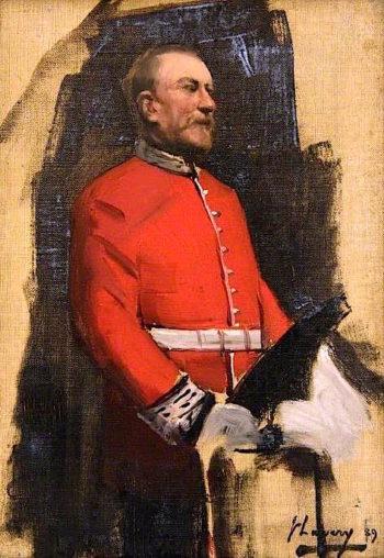 Sir James Bain (sketch) | Sir John Lavery
