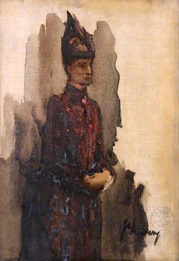 The Countess of Dundonald (sketch) | Sir John Lavery
