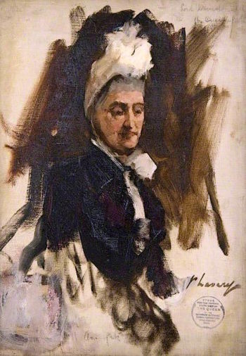 The Countess of Lindsay (sketch) | Sir John Lavery