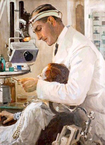 The Dentist | Sir John Lavery