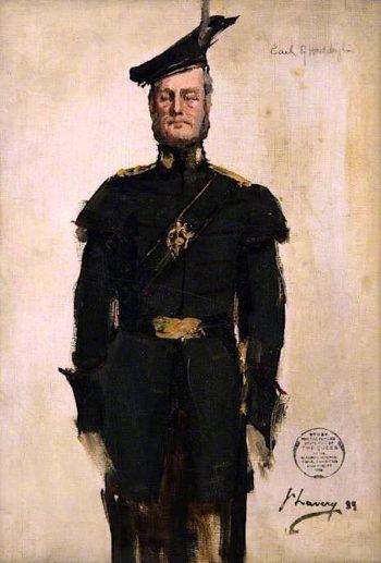 The Earl of Haddington (sketch) | Sir John Lavery