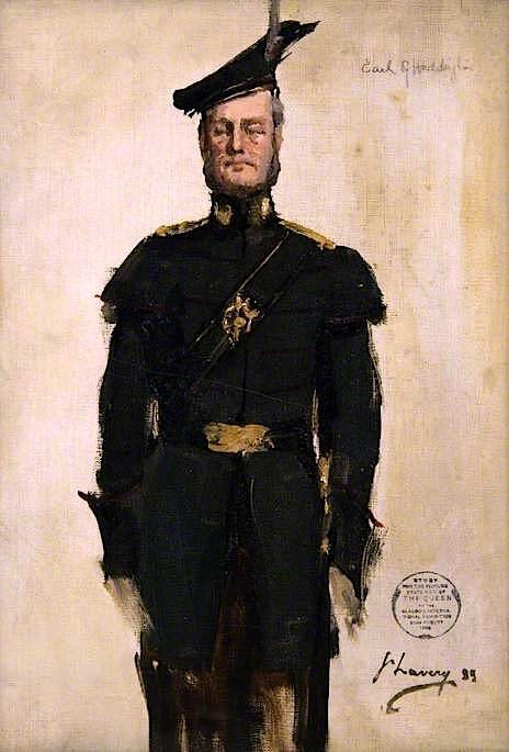 The Earl of Haddington (sketch) | Sir John Lavery