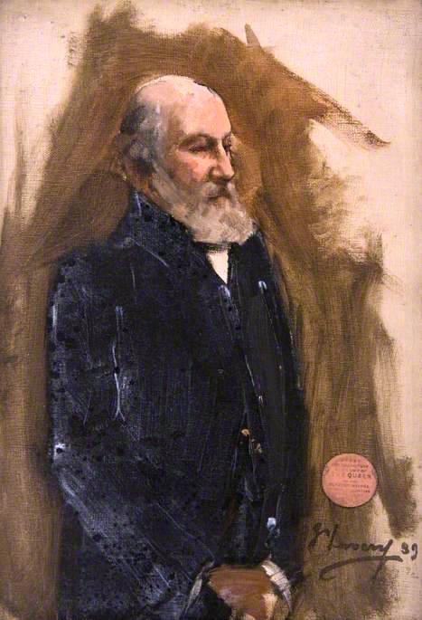 The Earl of Lindsay (sketch) | Sir John Lavery