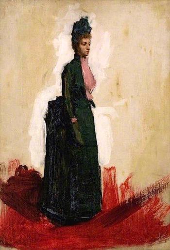 The Honourable Mabel Hamilton of Dalzell (sketch) | Sir John Lavery