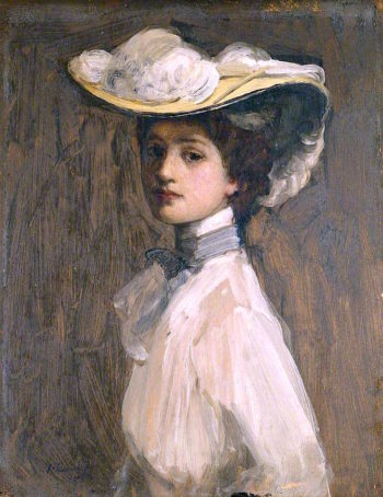 The Lady in White | Sir John Lavery