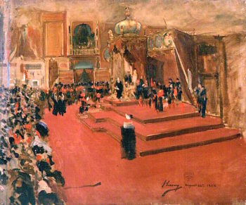 The Visit of Queen Victoria to the International Exhibition
