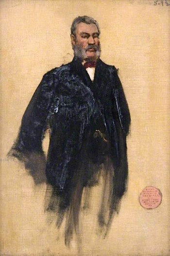 William Wilson (sketch) | Sir John Lavery