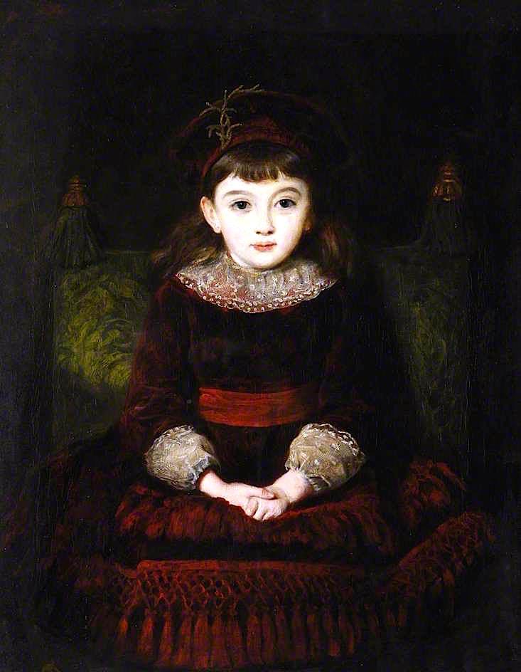 Day Dreams | John Everett Millais | oil painting