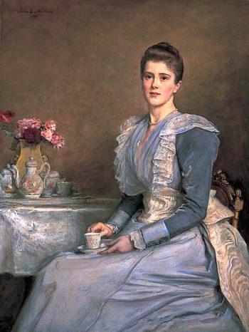 Mrs Joseph Chamberlain | John Everett Millais | oil painting
