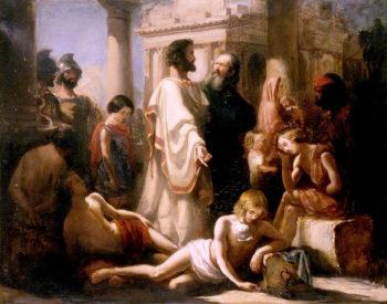 Non angli sed angeli   John Everett Millais   oil painting