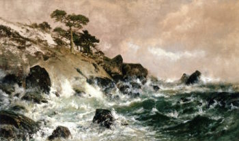 Cypress Point | William Keith | oil painting
