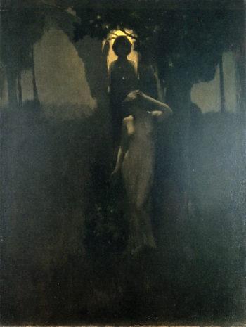 Eve   Arthur Matthews   oil painting