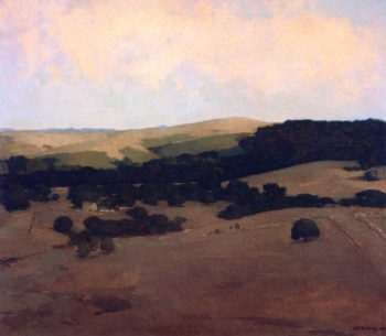 Monterey County Landscape   Arthur Matthews   oil painting
