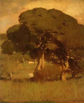 Carmel   Arthur Matthews   oil painting