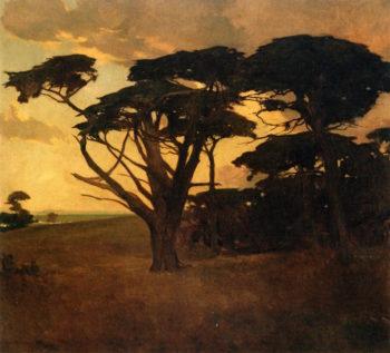 Cypress Grove   Arthur Matthews   oil painting