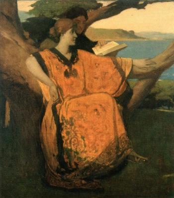 California   Arthur Matthews   oil painting