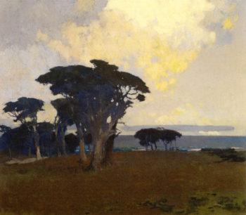Monterey Bay   Arthur Matthews   oil painting