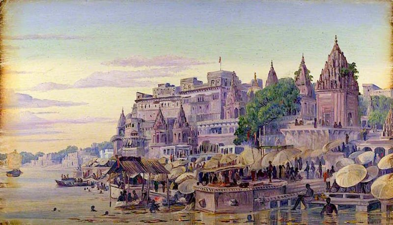 Benares. India. October 23d 1878 | Marianne North | oil painting