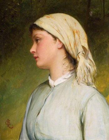 Portrait Study | Charles Sillem Lidderdale | oil painting