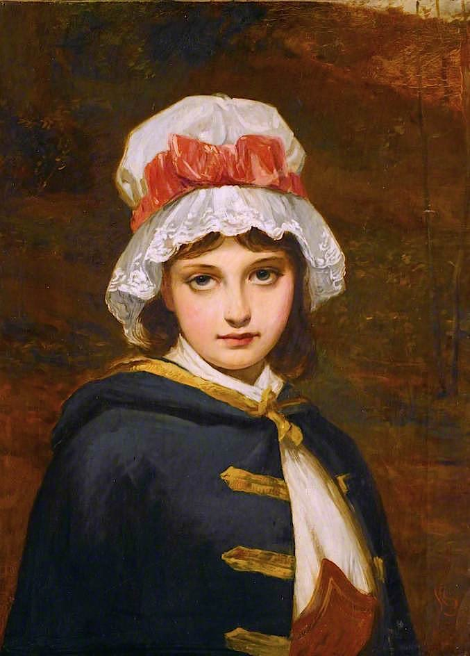 The Squires Daughter | Charles Sillem Lidderdale | oil painting