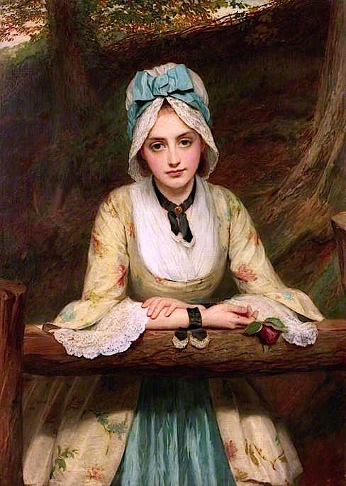 The Trysting Place | Charles Sillem Lidderdale | oil painting