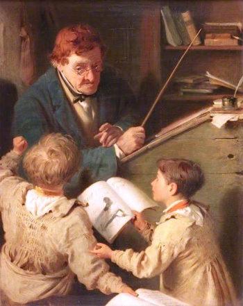 Whom to Punish?   John Morgan   oil painting