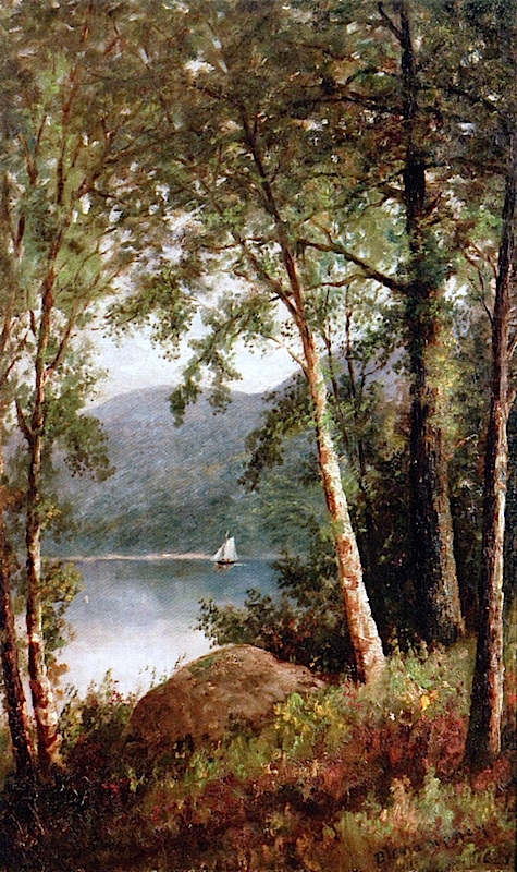 Afternoon Sail on the Lake | Benjamin Champney | oil painting