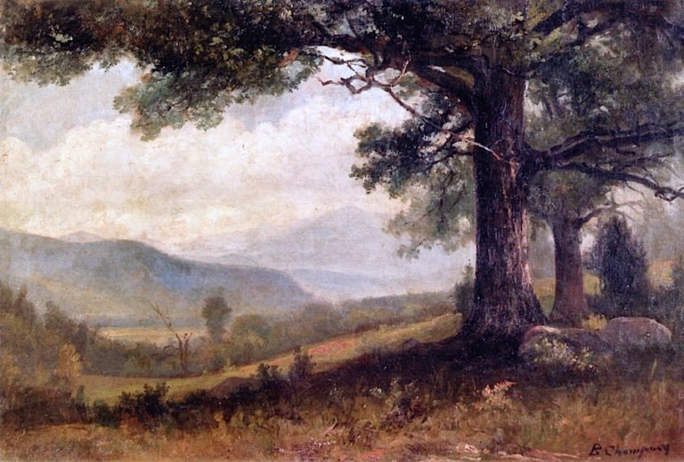 View to the Valley | Benjamin Champney | oil painting