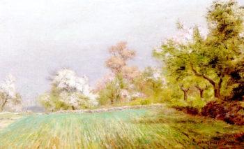 Spring Landscape   Albert Babb Insley   oil painting