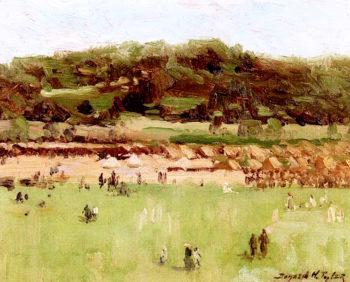 At Van Cortlandt Park   Bayard Henry Tyler   oil painting