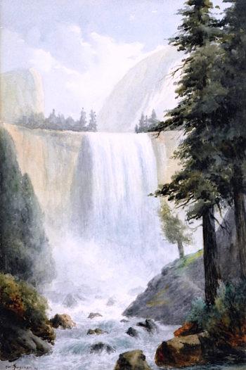 Vernal Falls | Christian Jorgensen | oil painting