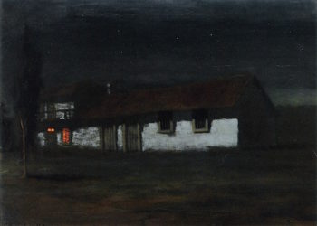 Adobe Nocturne | Charles Rollo Peters | oil painting
