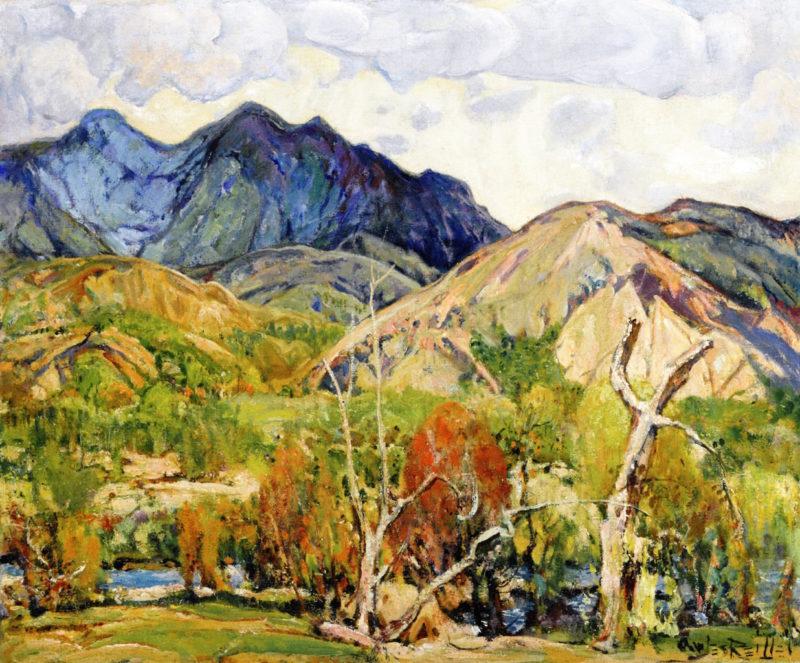 San Felipe Creek | Charles Reiffel | oil painting