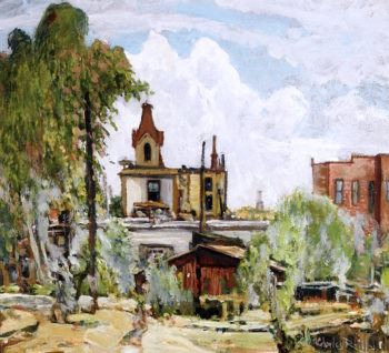 In Old National City | Charles Reiffel | oil painting