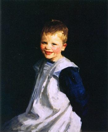 Smiling Dutch Girl | Robert Henri | oil painting