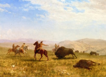The Wild West | Albert Bierstadt | oil painting