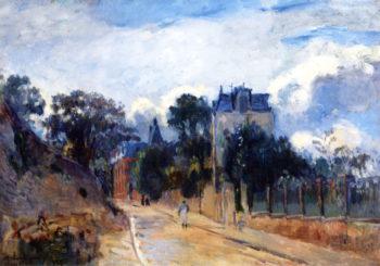 Rou de Meudon | Albert Lebourg | oil painting