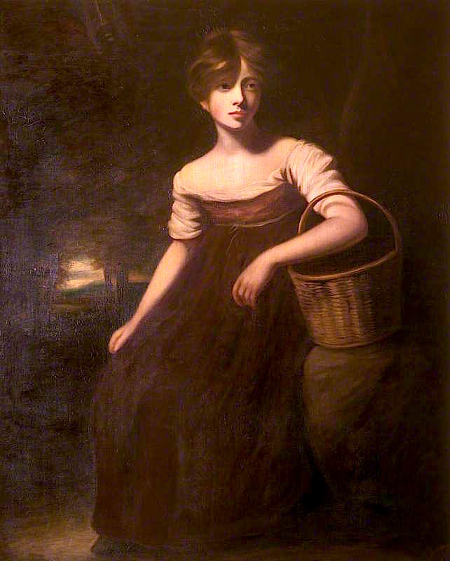 A Country Girl | John Opie | oil painting