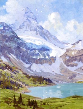 Lake Louise | Belmore Browne | oil painting