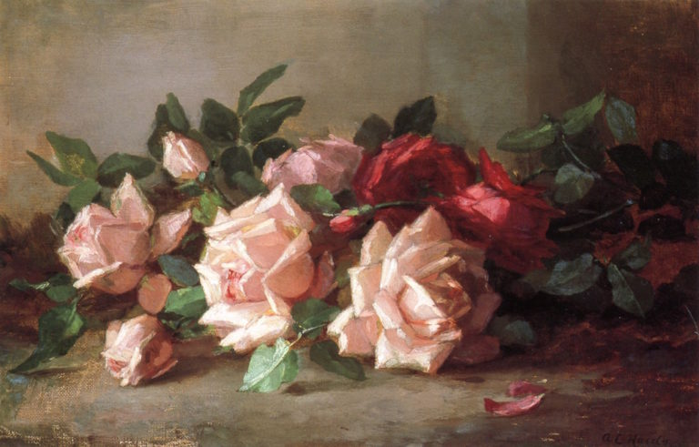 Roses | Anna Eliza Hardy | oil painting