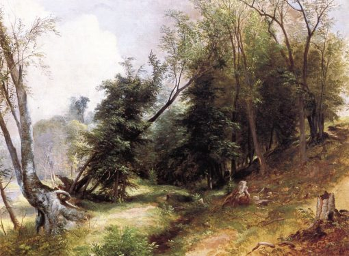 View from the Woodlands | Asher Brown Durand | oil painting