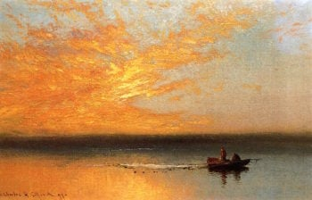 Sunset | Charles Henry Gifford | oil painting