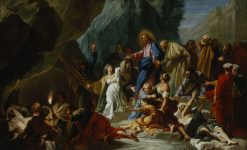 The Raising of Lazarus | Jean Jouvenet | oil painting