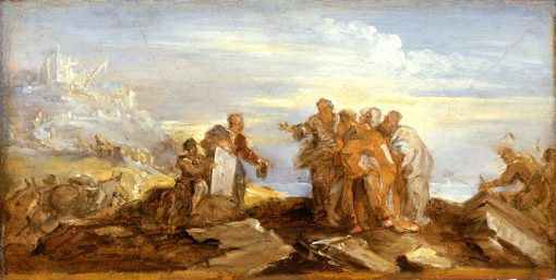 Scene from Ancient History | Joseph Parrocel | oil painting