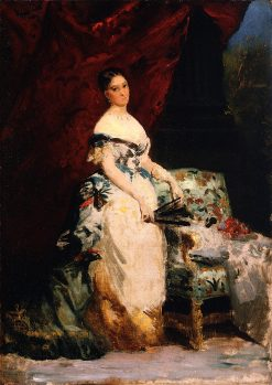 Princess Brancaccio - Massimo | Edouard Louis Dubufe | oil painting