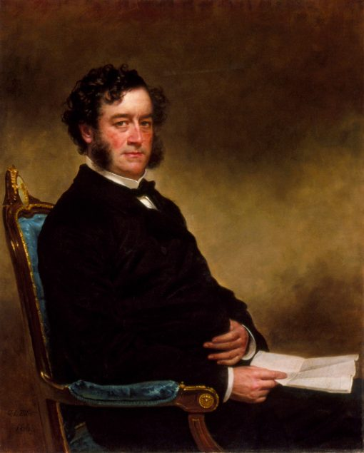 Portrait of a Gentleman   Charles Loring Elliott   oil painting